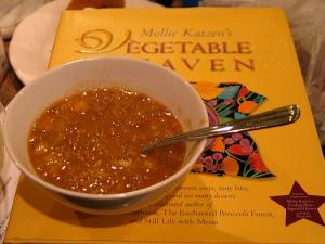 lentil soup, pureed