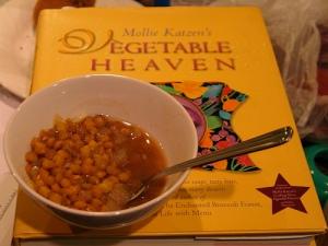 lentil soup, whole