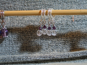 crystal stitch markers