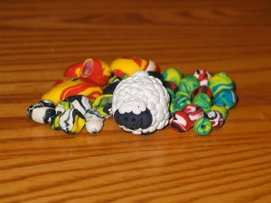 the sheep and his bead buddies