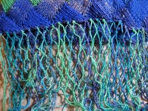 close up of the fringe