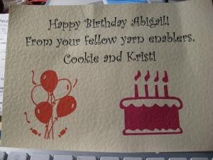 birthday yarn wishes