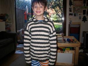 niels' new sweater
