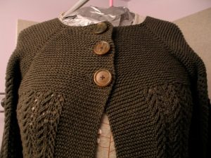 february lady sweater with buttons