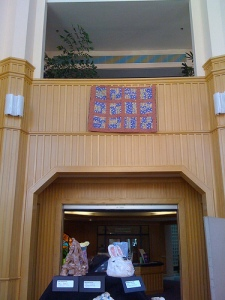 quilts at the art show