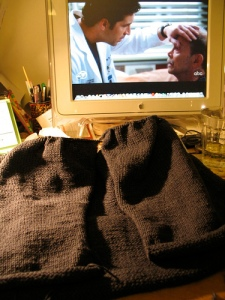knitting and hulu
