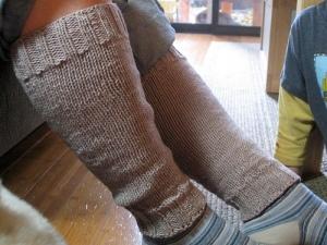 mom's legwarmers