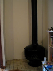 fireplace/stove before
