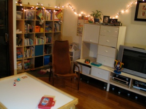 playroom corner